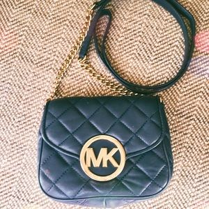 Michael Kors Mini Quilted Fulton Crossbody